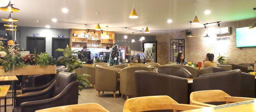 Nội thất bàn ghế - kệ quán cafe 269 - Gò Vấp - TpHCM