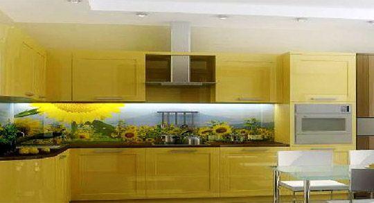 Mẫu kính ốp bếp in tranh 3D TOP-154 đẹp mê luôn