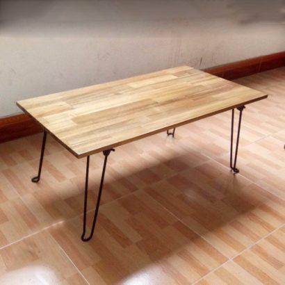Mẫu bàn làm việc ngồi bệt xếp gọn GHZ-291 cực kỳ gọn cho phòng trọ nhỏ