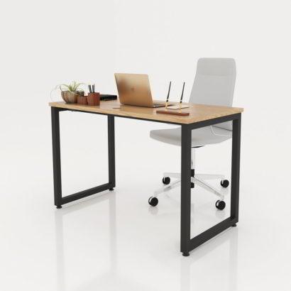 Bàn văn phòng 1200x600 gỗ MFC chân sắt vuông 40x40 GHZ-272