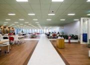Năng suất lao động tăng mạnh nhờ thiết kế văn phòng