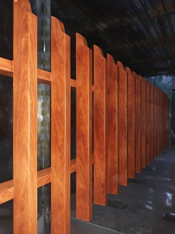 Sơn tĩnh điện vân gỗ