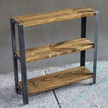 Kệ khung sắt mặt gỗ thông 3 tầng GHZ-814 đốn tim biết bao khách hàng rồi