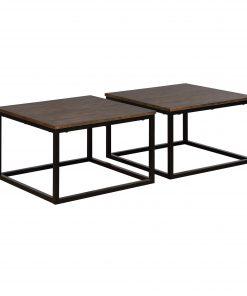 Bạn mẫu Bàn cafe chân sắt mặt gỗ giả cổ GHZ-3164 đốn đổ tim bao nhiêu khách hàng