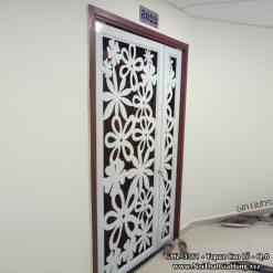 Cửa Sắt Chung Cư CNC GHZ-3361 tại Topaz Cao Lỗ - Q8