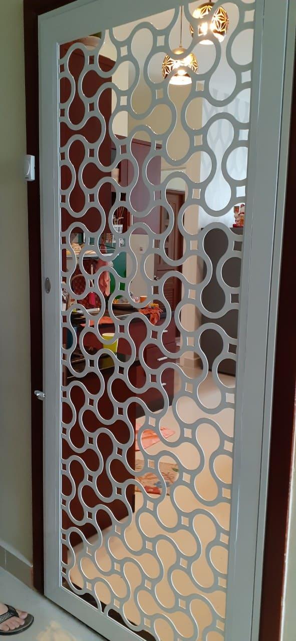 Cửa Sắt Chung Cư CNC tại Toky Tower quận 12 GHZ-3573
