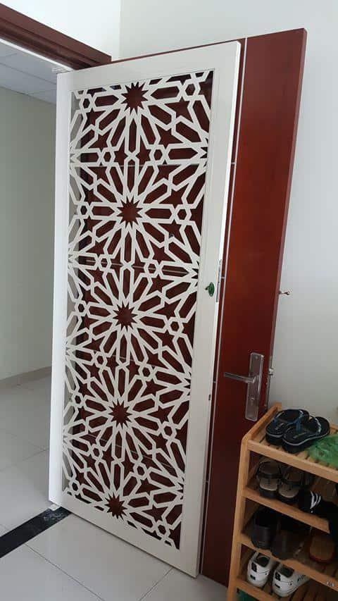 Cửa Sắt Chung Cư CNC tại Toky Tower quận 12 GHZ-3579