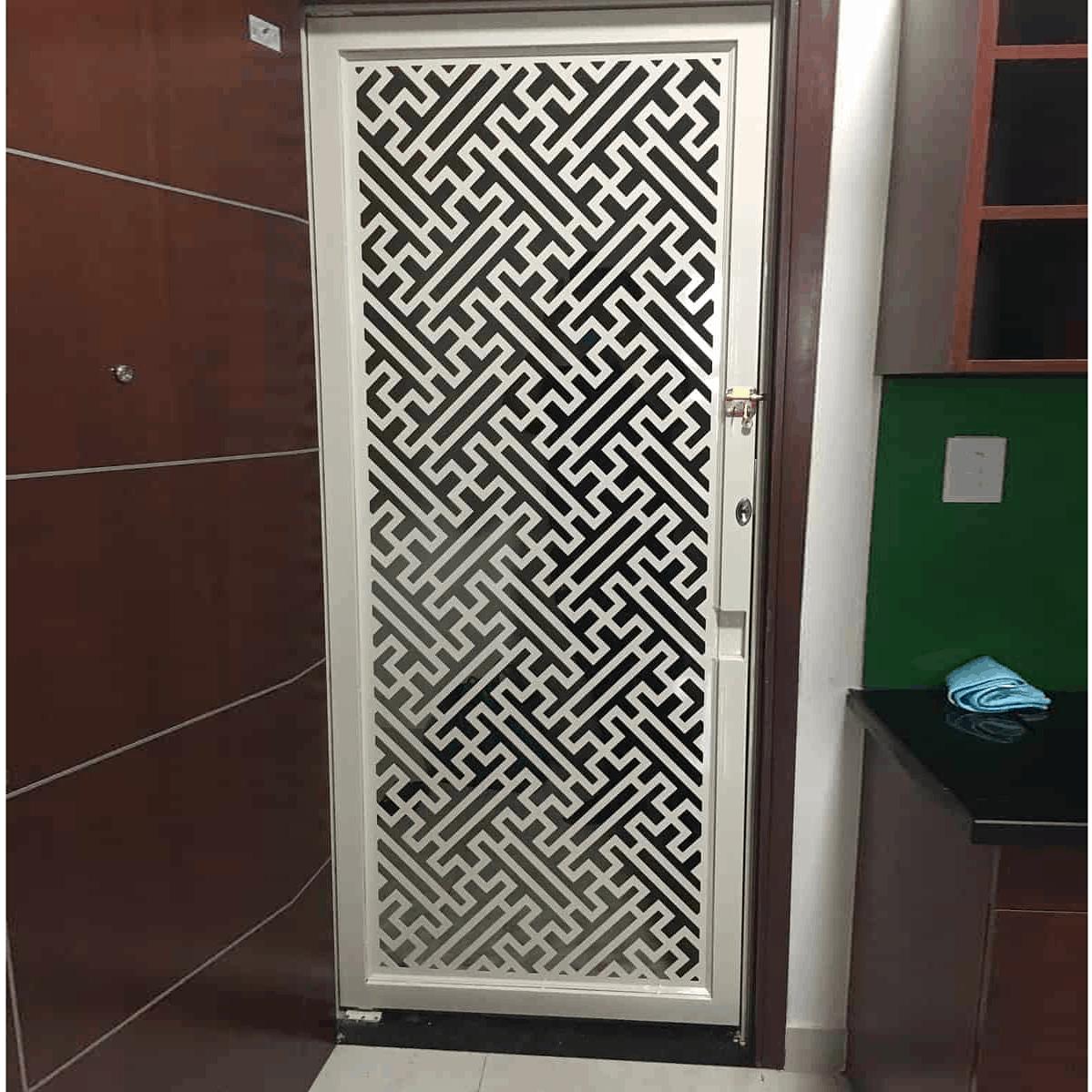 Cửa Sắt Chung Cư CNC tại Toky Tower GHZ-3743