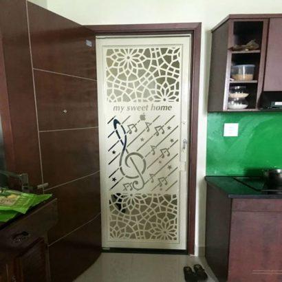 Cửa Sắt Chung Cư CNC tại Toky Tower GHZ-3746