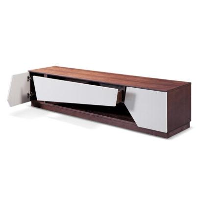 Kệ tivi gỗ trang trí màu sồi nâu GHK-319 Lillian