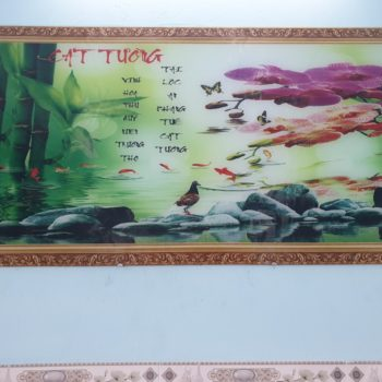 tranh kinh cuong luc phong thuy cat tuong ghk 145